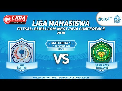 STIE VS UNSIL  LIMA FUTSAL : BLIBLI.COM WEST JAVA CONFERENCE 2018