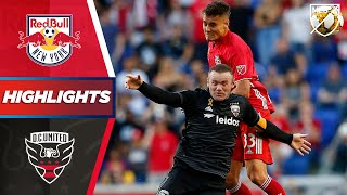 New York Red Bulls vs. D.C. United | Can Rooney Drive D.C. to Victory? | HIGHLIGHTS
