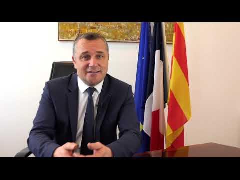 Confinement : déclaration du Maire Martial Alvarez.