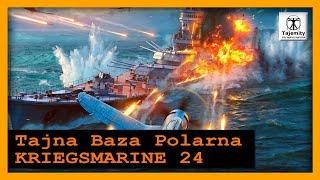 """Tajna Baza Polarna – """"Kriegsmarine 24″W latach 1939-1943 na terenie Związku Radzieckiego, Niemcy instalowali swoje tajne bazy polarne"""