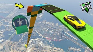 GTA 5 ONLINE 🐷 MEGA RAMPA TROLLLLL !!! 🐷 GARE PARKOUR 🐷N*331🐷 GTA 5 ITA 🐷 DAJE !!!