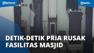 Viral Pria Rusak Fasilitas Masjid di Balikpapan, Kini Pelaku Berhasil Ditangkap Polisi