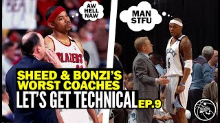Sheed & Bonzi Rank Their WORST NBA Coaches EVER!!! Real Stories From the Locker Room | LGT Ep 9