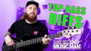 Top 9 Bass Riffs That'll Make You Want To Buy An ERNIE BALL stingray bass guitar