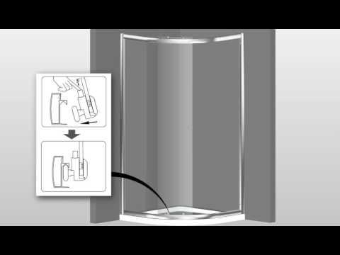 TrenLine Duschabtrennung Easy 5 Runddusche Montageanleitung