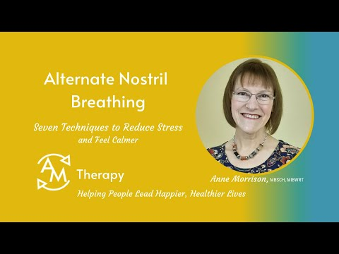Alternate Nostril Breathing Technique<br />Learn this Yoga breathing technique to help relax and focus the mind