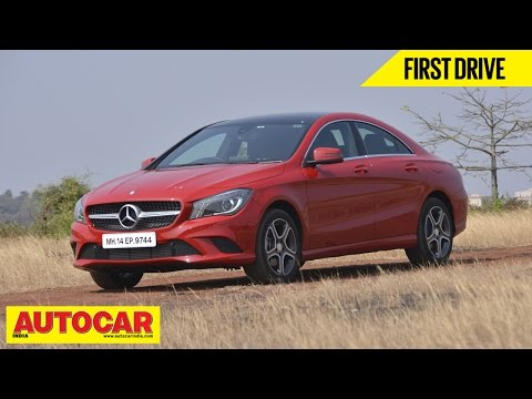 2015 Mercedes-Benz CLA-Class | First Drive Video Review | Autocar India