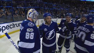 Vasilevskiy, Stamkos lead Lightning in shootout win