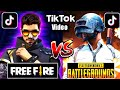 FREE FIRE VS PUBG ||on TIK TOK||part#15||by IGB.hasnain