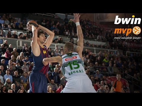 Top 16 Round 5 bwin MVP: Ante Tomic, FC Barcelona