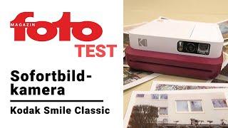 Sofortbildkamera Test   Review zur Kodak Smile Classic