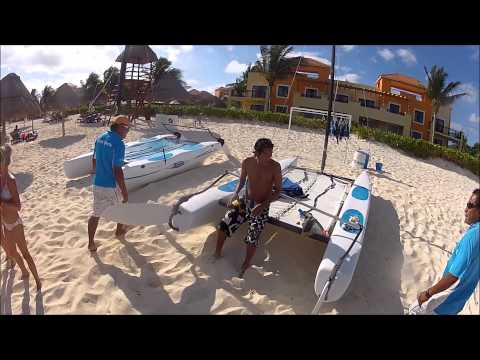 Hobie Wave Sailing and Capsize