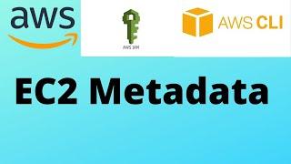 AWS EC2 Retrieving Instance Metadata [Demo] | IAM Credentials for EC2