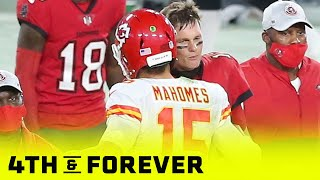 Mark Sanchez and Kirk Cousin's Preview Super Bowl LV Between The Chiefs & Buccaneers | 4th & Forever