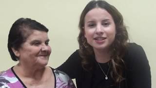 Правнучка поет для прабабушки - Виктория Оганисян