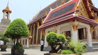 preview picture of video '2012 DSLR - Wat Phra Kaeo - Bangkok city Thailand - HD'