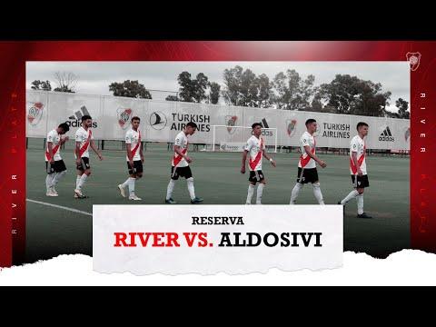 River Plate 3 vs. Aldosivi 3 [Reserva - Partido completo]