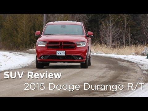 2015 Dodge Durango R/T | SUV Review