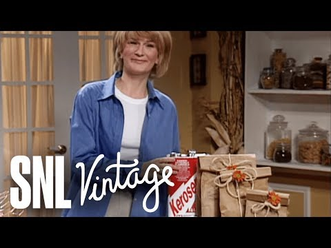 Martha Stewart on Halloween - SNL