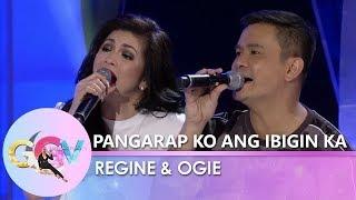 GGV: Ogie Alcasid and Regine Velasquez sing a duet of