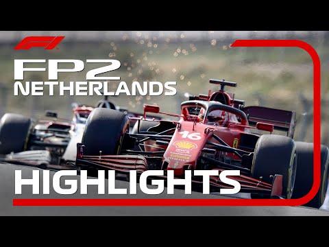 F1 第13戦オランダGP(ザントフォールト)FP2のハイライト動画