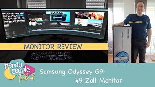 Mein Review zum Samsung Odyssey G9 49 Zoll Monitor und einige Tipps dazu