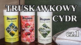 Cydr truskawkowy - cz. 1