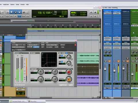 Pro tools 8LE Tutorial – Side chaining 2 of 2