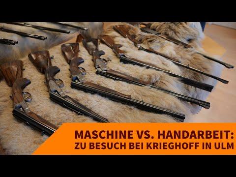 krieghoff: Maschine vs. Handarbeit? Zu Besuch bei Krieghoff zur Werksbesichtigung und der Entenjagd