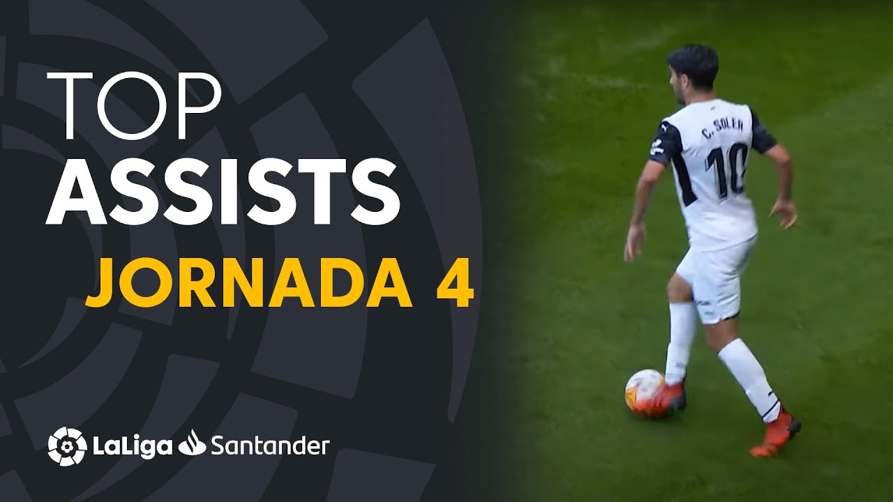 LaLiga Best Assists: Fede Valverde, Elustondo & Carlos Soler