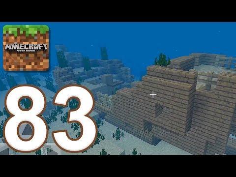 Minecraft: Pocket Edition – Gameplay Walkthrough Part 83 – New Aquatic Update (iOS, Android)