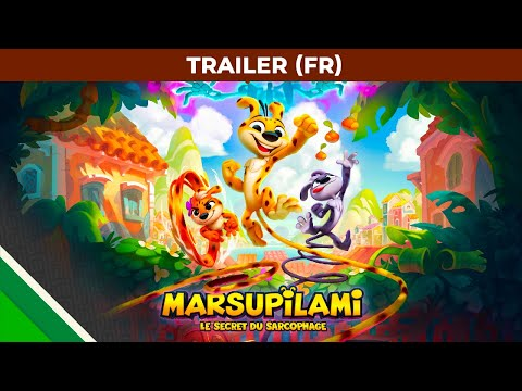 Trailer FR de Marsupilami: Le Secret du Sarcophage