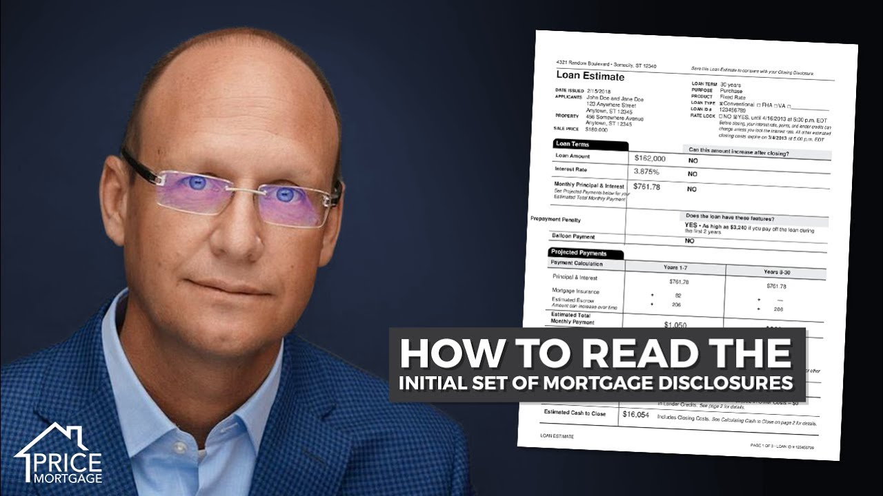 How to Read Your Loan Estimate