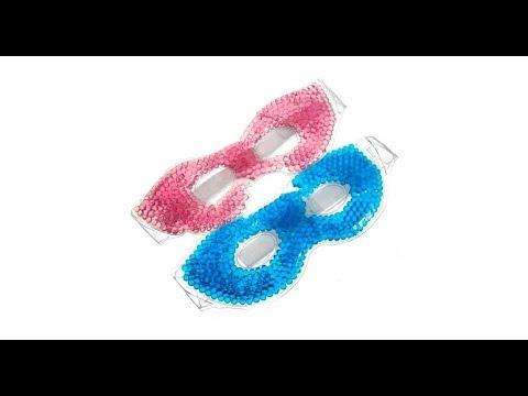 Силиконовые (охлаждающие-согревающие) маска-очки для глаз
