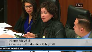 Rep. Mary Kunesh-Podein Defends Experienced Licensed Teachers