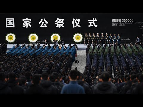 China's national anthem played at memorial for Nanjing Massacre victims