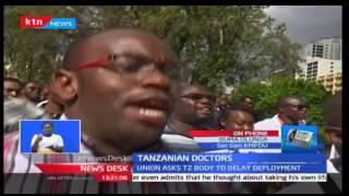 KMPDU writes to Tanzanian Union to delay deployment of doctors' to Kenya