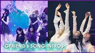 All the Intros in Gfriend's Title Songs (2015-2019)