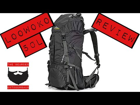 Loowoko 50L Hiking Backpack review