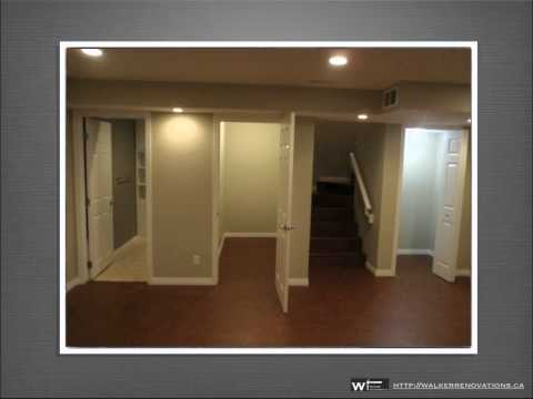 Calgary Basement Renovations and Basement Remodelling By Walker Industries