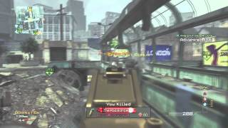 Losing A Job- MW3 Underground G36C w/ Commentary - APGtlo729
