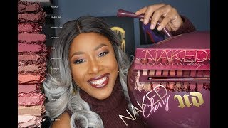 Urban Decay Naked Cherry Collection Review + Demo
