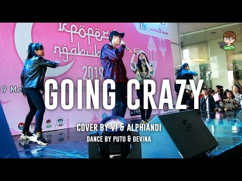 Treasure 13 - Going Crazy Cover By Vi & Alphiandi