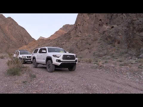 Death Valley Off-Road Adventure: Day 1, Trip To Inyo Mine (2016 Tacoma)