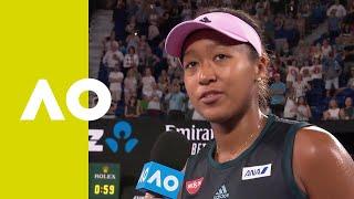 Naomi Osaka on-court interview (1R) | Australian Open 2019