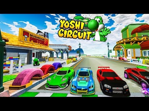 """NEW"" YOSHI CIRCUIT RACE MAP ON ROCKET LEAGUE IS INCREDIBLE! Mp3"