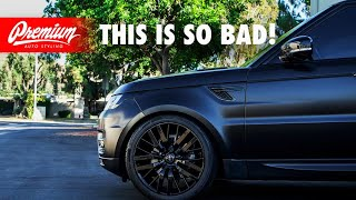 Dont WRAP Your Car MATTE BLACK, Here Is WHY Its The Worst Vinyl Wrap EVER!!