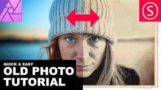 Affinity Photo - Old Photo Look Tutorial
