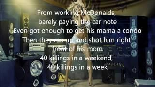 Kanye West - New God Flow ft. Pusha T [lyrics]
