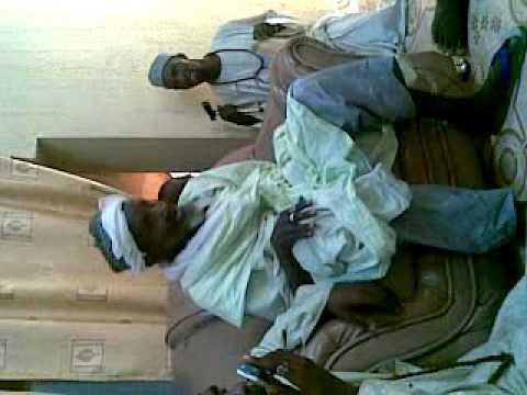 Sheikh aliyu harazimi in his daughter house